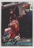 Stacey Augmon (Autographed) [Noted]
