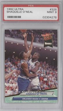 1992-93 Fleer Ultra - [Base] #328 - Shaquille O'Neal [PSA 9]