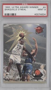 1992-93 Fleer Ultra - Rejector #4 - Shaquille O'Neal [PSA 9]