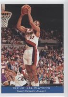 1991-92 NBA Playoffs - Round 1: Portland 3, LA Lakers 1