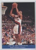 1991-92 NBA Playoffs - Buck Williams