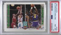 Michael Jordan, Karl Malone [PSA 8 NM‑MT]