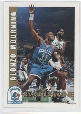 1992-93 NBA Hoops - [Base] #361 - Alonzo Mourning