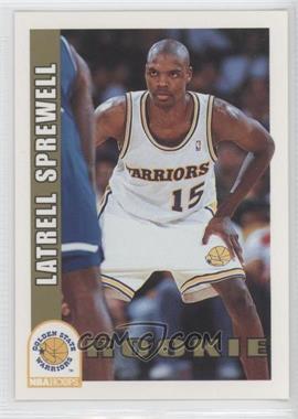 1992-93 NBA Hoops - [Base] #389 - Latrell Sprewell