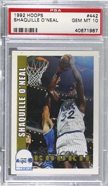 1992-93 NBA Hoops - [Base] #442 - Shaquille O'Neal [PSA10GEMMT]