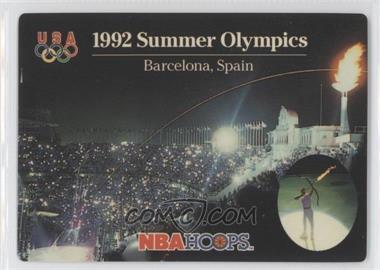 1992-93 NBA Hoops - [Base] #NoN - 1992 Summer Olympics (Barcelona, Spain)