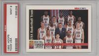 Team USA (Olympics) Team, Michael Jordan, Scottie Pippen, Charles Barkley, Larr…