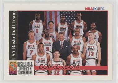 1992-93 NBA Hoops - [Base] #NoN - Team USA (Olympics) Team, Michael Jordan, Scottie Pippen, Charles Barkley, Larry Bird, Magic Johnson, John Stockton, Karl Malone, David Robinson, Patrick Ewing, Christian Laettner, Clyde Drexler, Chuck Daly