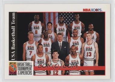 1992-93 NBA Hoops - [Base] #NoN - Team USA (Olympics) Team, Michael Jordan, Scottie Pippen, Charles Barkley, Larry Bird, Magic Johnson, John Stockton, Karl Malone, David Robinson, Patrick Ewing, Christian Laettner, Clyde Drexler, Chuck Daly