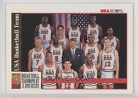 Team USA (Olympics) Team, Michael Jordan, Scottie Pippen, Charles Barkley, Larr…