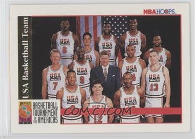 1992-93 NBA Hoops - [Base] #USBT - Michael Jordan, Scottie Pippen, Charles Barkley, Larry Bird, Magic Johnson, John Stockton, Karl Malone, David Robinson, Patrick Ewing, Christian Laettner, Clyde Drexler, Chuck Daly