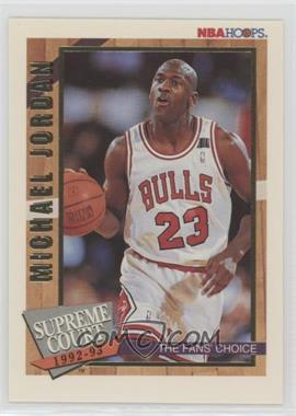 1992-93 NBA Hoops - Supreme Court #SC1 - Michael Jordan