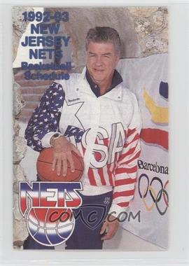 sale retailer a1e43 95124 1992-93 NBA Team Schedules - [Base] #NJNE - New Jersey Nets ...
