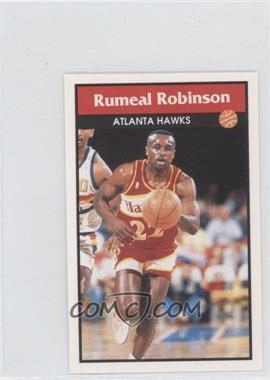 1992-93 Panini Album Stickers - [Base] #116 - Rumeal Robinson