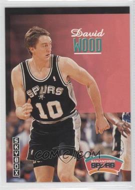 1992-93 Skybox - [Base] #346 - David Wood