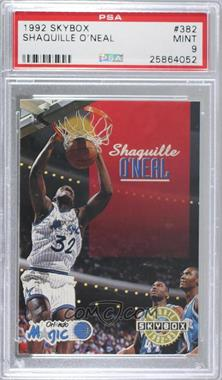 1992-93 Skybox - [Base] #382 - Shaquille O'Neal [PSA9MINT]