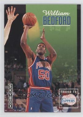 1992-93 Skybox - [Base] #67 - William Bedford