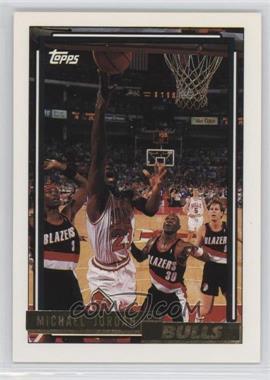 1992-93 Topps - [Base] - Gold #141 - Michael Jordan