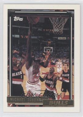 1992-93 Topps - [Base] - Gold #141 - Michael Jordan
