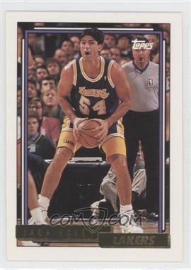 1992-93 Topps - [Base] - Gold #155 - Jack Haley