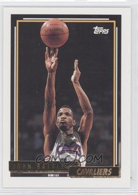 1992-93 Topps - [Base] - Gold #275 - John Battle