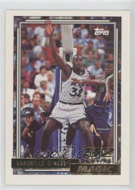 1992-93 Topps - [Base] - Gold #362 - Shaquille O'Neal
