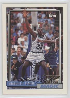 1992-93 Topps - [Base] #362 - Shaquille O'Neal