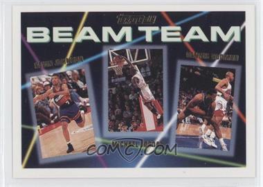 1992-93 Topps - Beam Team - Gold #3 - Dennis Rodman, Michael Jordan, Kevin Johnson