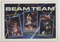 Hakeem Olajuwon, Mark Price, Shawn Kemp