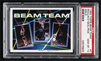 Shaquille O'Neal, Chris Mullin, Glen Rice [PSA 10 GEM MT]