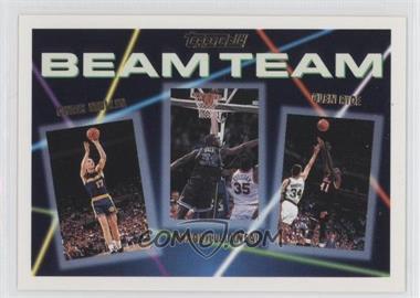 1992-93 Topps - Beam Team - Gold #7 - Shaquille O'Neal, Chris Mullin, Glen Rice