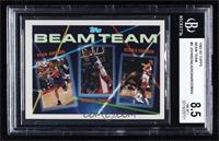 Dennis Rodman, Michael Jordan, Kevin Johnson [BGS8.5NM‑MT+]