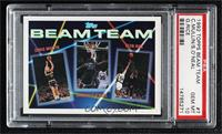 Chris Mullin, Shaquille O'Neal, Glen Rice [PSA 10 GEM MT]