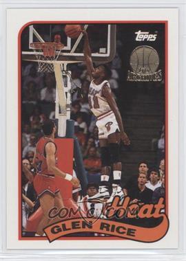 1992-93 Topps Archives - [Base] - Gold Stamp #127 - Glen Rice