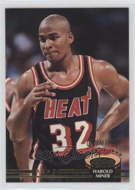 1992-93 Topps Stadium Club - [Base] #317 - Harold Miner