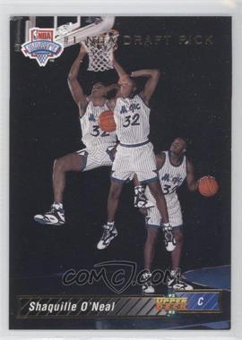 1992-93 Upper Deck - [Base] #1 - Shaquille O'Neal