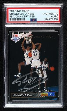 1992-93 Upper Deck - [Base] #1 - Shaquille O'Neal [PSAAuthenticPSA/DNACert]