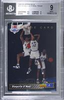Shaquille O'Neal Trade Card [BGS 9 MINT]