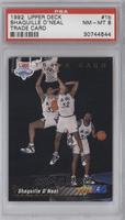 Shaquille O'Neal Trade Card [PSA 8]