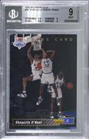 Shaquille O'Neal Trade Card [BGS9MINT]
