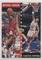 Michael Jordan, Scottie Pippen [EXtoNM]