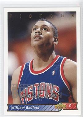 1992-93 Upper Deck - [Base] #83 - William Bedford