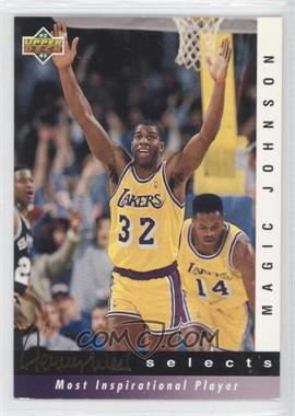 1992-93 Upper Deck - Jerry West Selects #JW7 - Magic Johnson