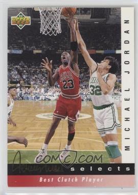 1992-93 Upper Deck - Jerry West Selects #JW9 - Michael Jordan
