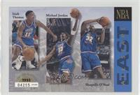 East All-Stars (Isiah Thomas, Michael Jordan, Shaquille O'Neal, Mark Price, Lar…