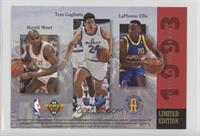 NBA Rookie Standouts (Alonzo Mourning, Shaquille O'Neal, Christian Laettner, Ha…