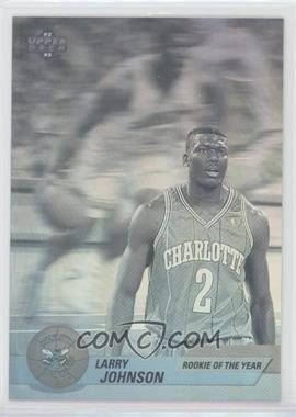 1992-93 Upper Deck International Italian - Award Winner Holograms #EB5 - Larry Johnson