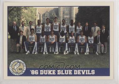 1992 ACC Tournament Champions - [Base] #33 - Duke Blue Devils Team