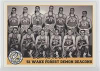 '61 Wake Forest Demon Deacons