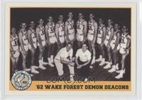'62 Wake Forest Demon Deacons Team